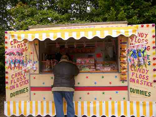The Candy Man - Old Fashioned Sweet Stall