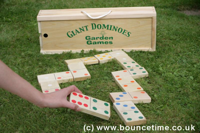 Giant Garden Dominoes
