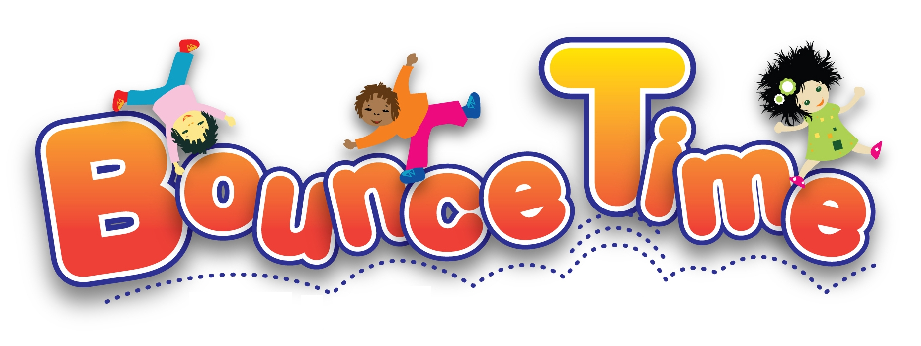 Bounce Time Animated Logo