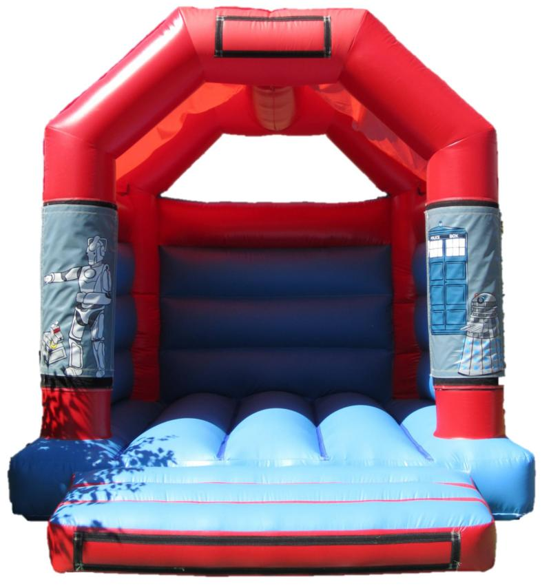 11x13ft Dr. Who Bouncy Castle