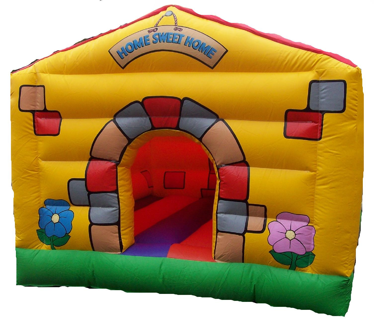 10x10ft Home Sweet Home Bouncy Castle