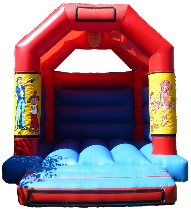 11x13ft Lazy Town Bouncy Castle