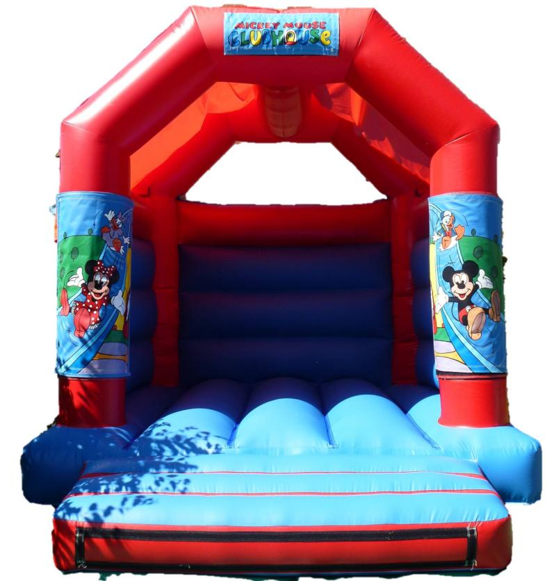 11x13ft Mickey Mouse Club House Bouncy Castle