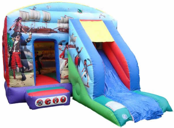 12x18ft Pirates of the Caribbean - Bounce And Slide Bouncy Castle