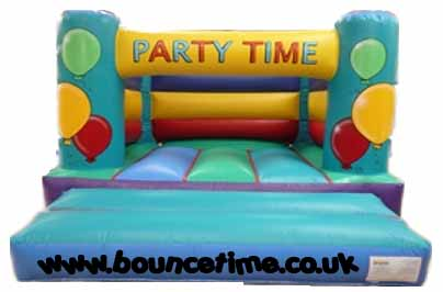 12x12ft Party Time indoor Bouncy Castle